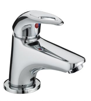 Bristan Java Mini Basin Mixer with Clicker Waste